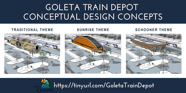 Public Input Requested for Future Goleta Train Depot Design