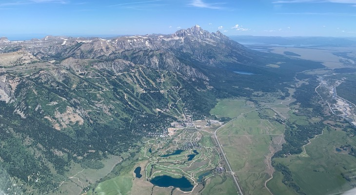 Jackson Hole & Grand Tetons View