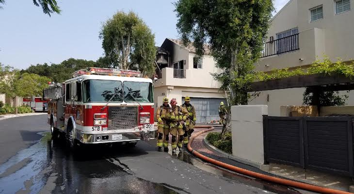 Firefighters Contain Structure Fire on Greggory Way title=