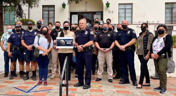 Author Thanks Local Law Enforcement Officers, Emphasizes Importance of Mental Health