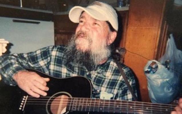 """Memorial for """"Guitar Dave"""""""