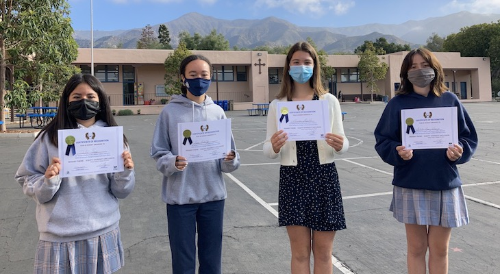 Contest winners from Goleta Valley Library