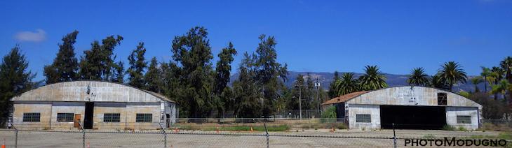 Two Hangars