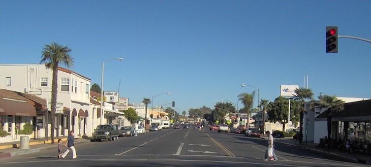 Hollister Avenue Old Town Interim Striping Project Authorized by City Council title=