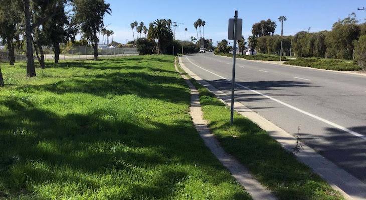 Sidewalk Improvements on Hollister Avenue Near Fairview title=