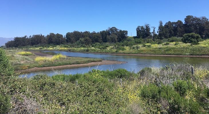 Atascadero Creek and Goleta Slough title=