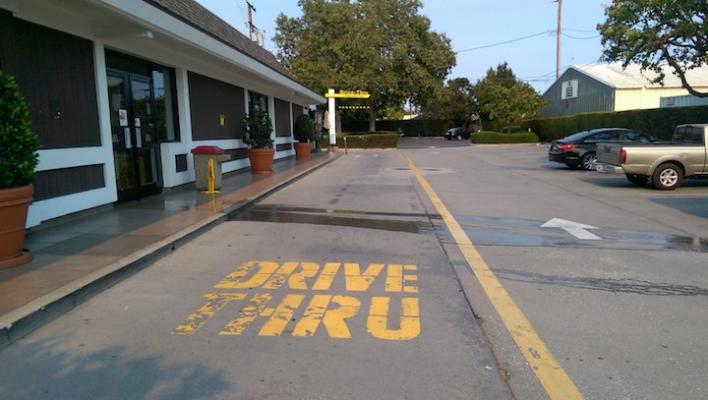 Possible Sewage Leak at McDonalds in Goleta title=