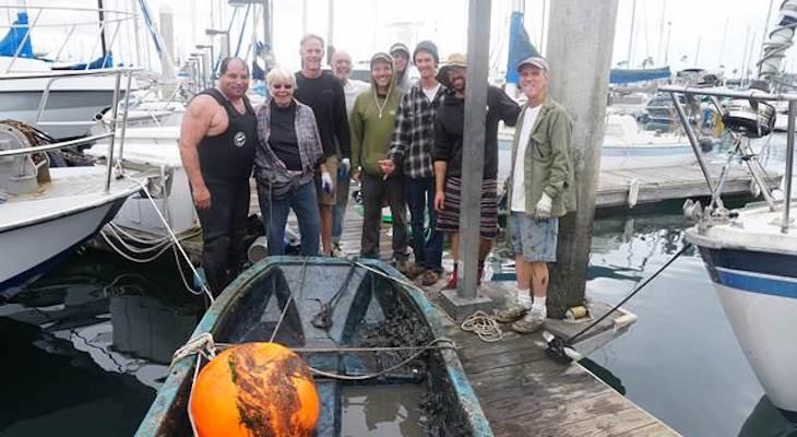 Volunteers Cleaned the Santa Barbara Harbor title=
