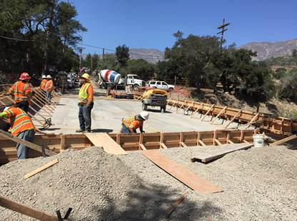 CALTRANS Continues Work on SR 192 Following Montecito Floods title=