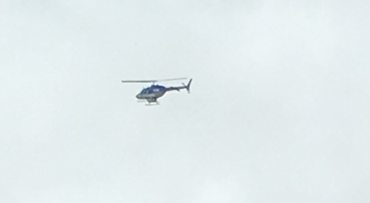 Police Helicopter over San Roque?