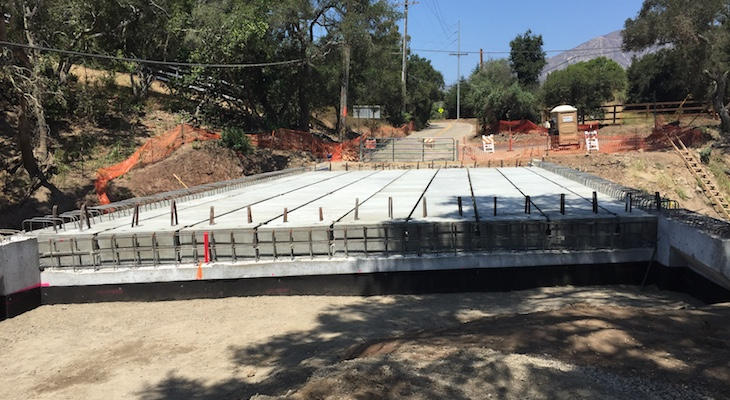 Three Montecito Bridges Expected to Reopen in October title=