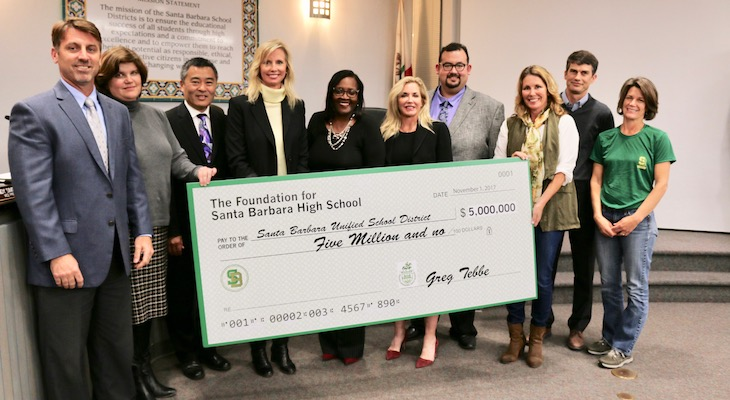 Santa Barbara High Receives $5 Million Donation for New Stadium title=