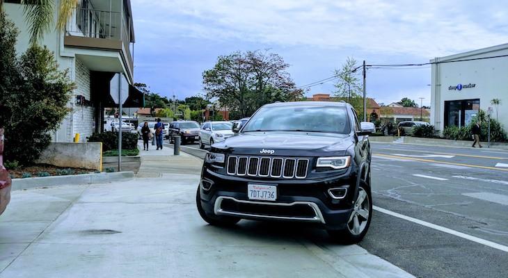 New Target Parking Creates La Cumbre Traffic