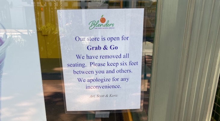 Increased Restrictions on Food Service