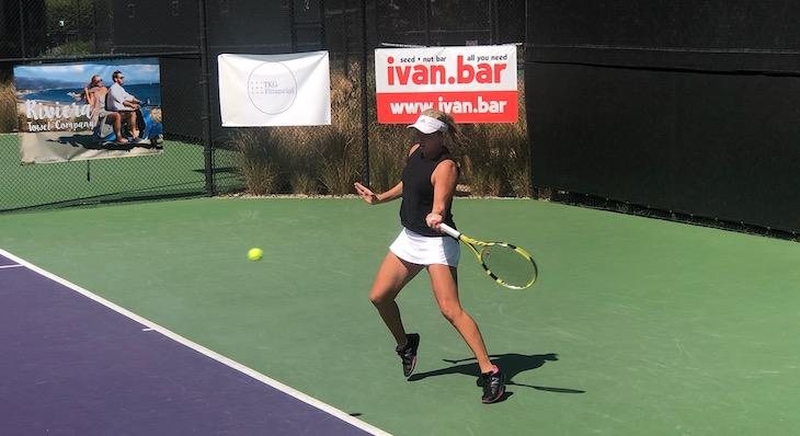 Kayla Day Wins Tennis Tournament in Santa Barbara