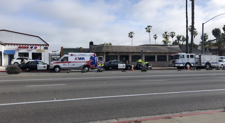 Bicyclist Injured on Fairview Causing Traffic Delays