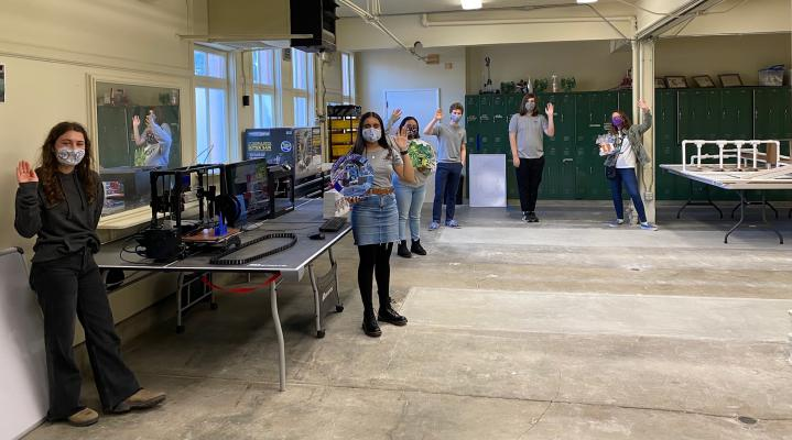 SBHS Computer Science Academy Announces Opening of SB Maker's Space