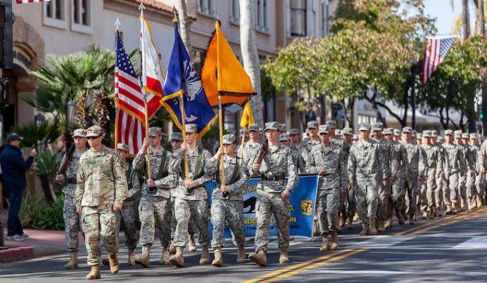 Veteran's Weekend Celebrations in Santa Barbara