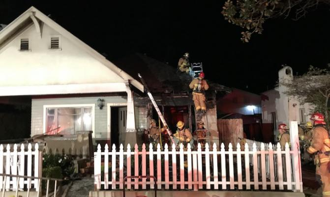Westside Home Severely Damaged in Fire title=