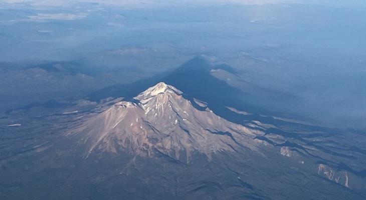 Flying By Shasta