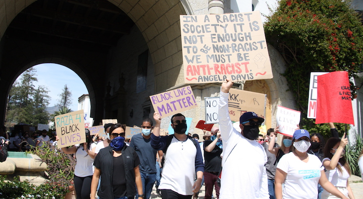 Local Communities Join Nationwide Protests Against Police Brutality