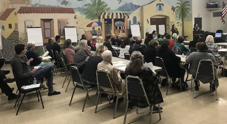 Goleta Residents Discuss Homelessness Plan title=