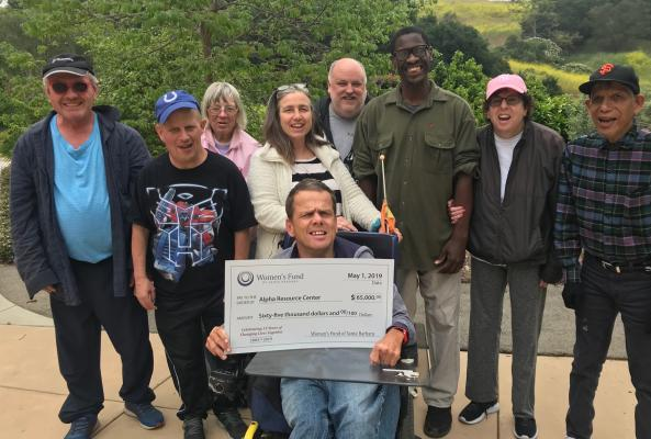 Alpha Receives Funds for Wheelchair Accessible Van