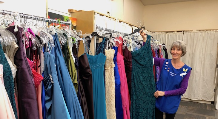 Need a Prom Dress? Assistance League of Santa Barbara Has You Covered title=