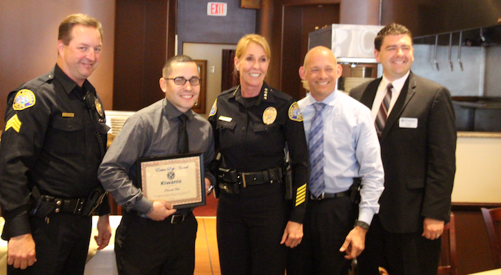 Extra Step Awards for Officers