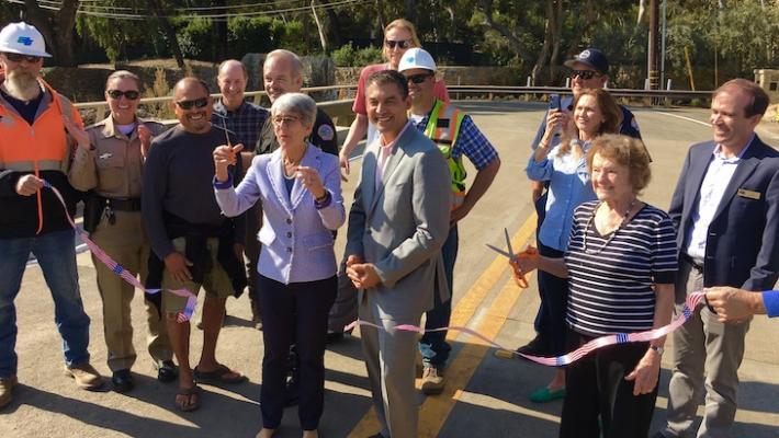 Montecito Creek Bridge Opens Friday