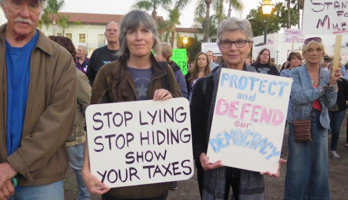 Protect Mueller Rally in Santa Barbara title=