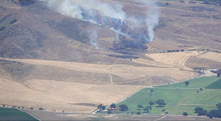 Brush Fire in Happy Canyon Now Fully Contained title=