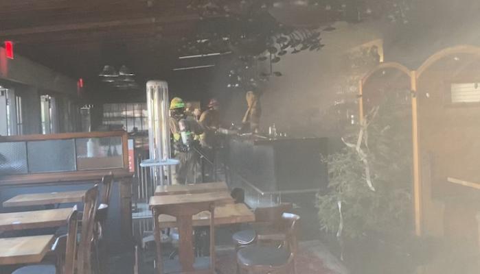 Lark Restaurant Structure Fire