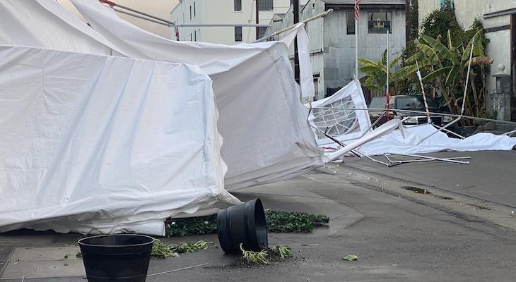 Storm Damage Throughout Town