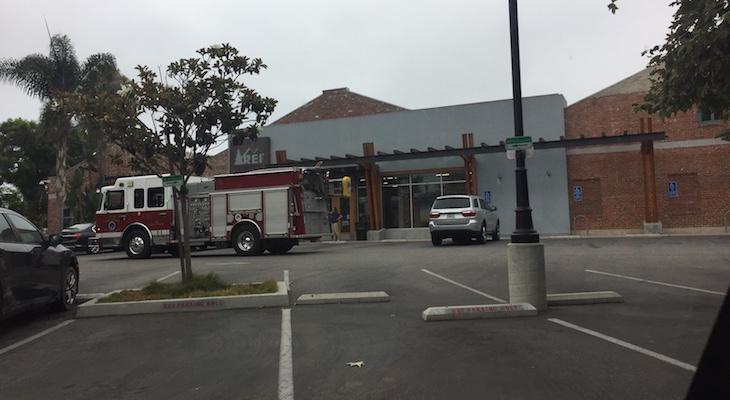 Fire Truck at REI?