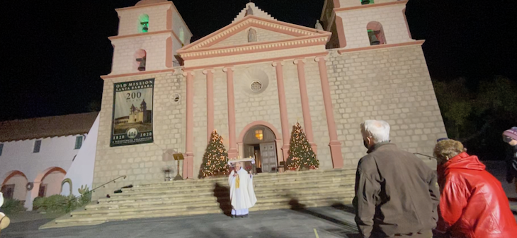 Old Mission Mass to End 2020