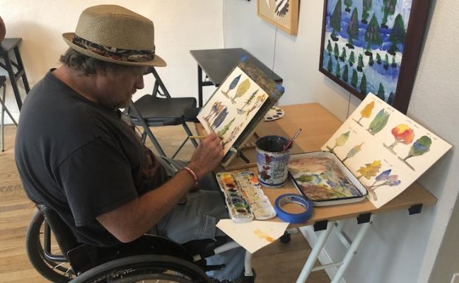 Holiday Gift Drive Delivers Essential Art Supplies to Adults with Disabilities