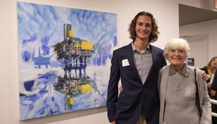 Scholarship Foundation Honors 25 Student Artists title=