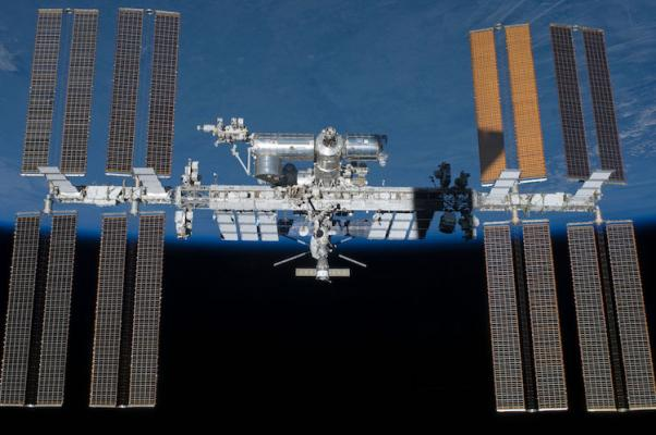 International Space Station Over Santa Barbara title=