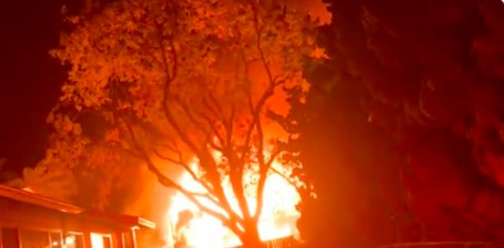 Fire Destroys Residential Structure in Isla Vista