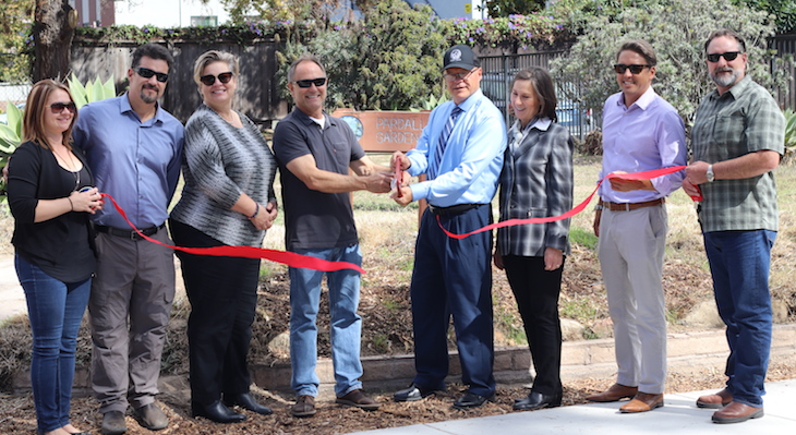 New Sidewalk Improvements in Isla Vista title=