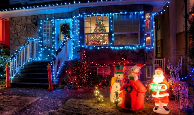 Santa Barbara Holiday Light Tour Route