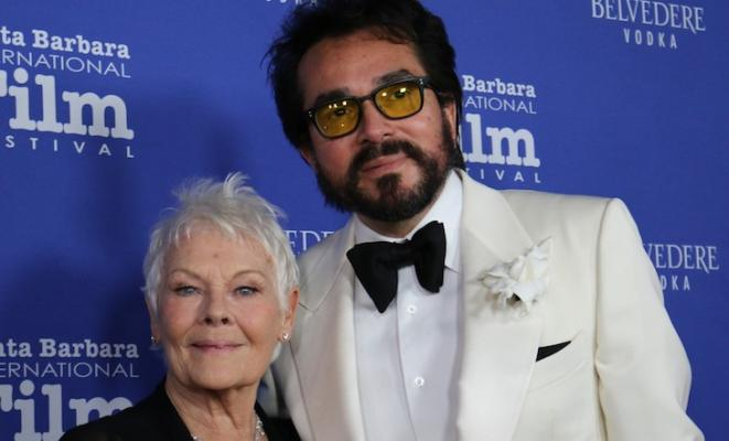 Dame Judi Dench Honored at 12th Annual Kirk Douglas Gala title=