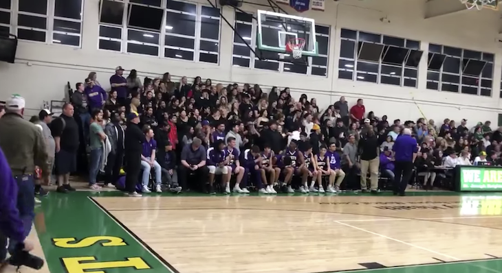 Xenophobic Chant at Orcutt Basketball Game title=