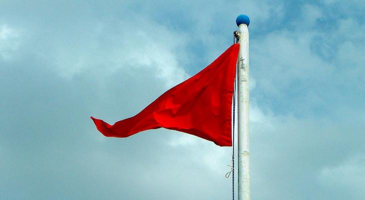 Red Flag Warning Through Tuesday title=