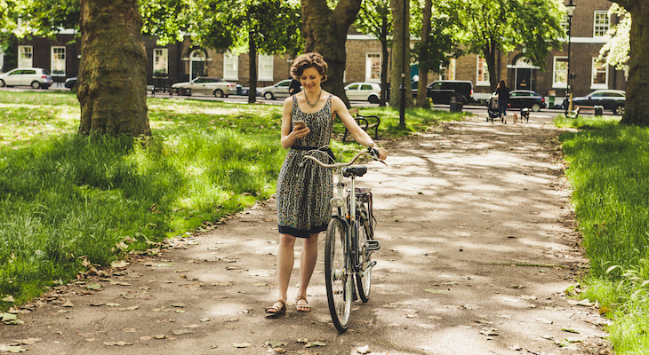 Bicycling Safety Meets Citizen Science