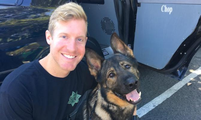 Sheriff K9 Chop Dies in Medical Emergency title=