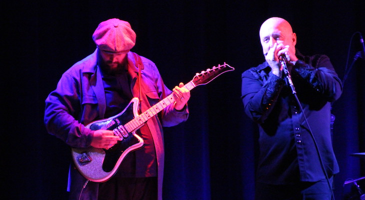 Kim Wilson Performs for Blues Society
