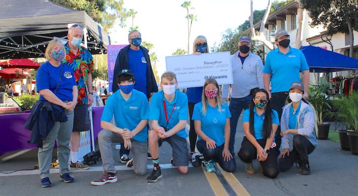 Kiwanis Santa Barbara Donates $5000 to Downtown Santa Barbara for Student Internships title=