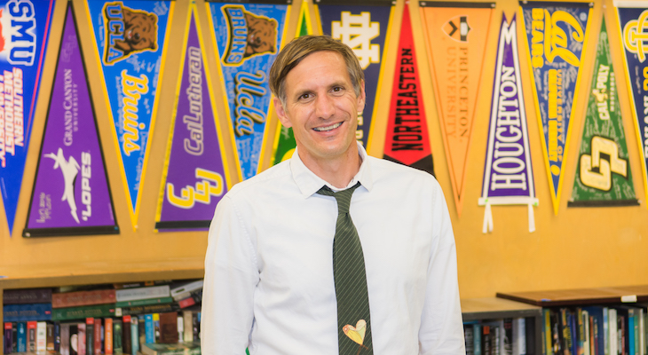 Frank Koroshec Named 2021 Santa Barbara County Teacher of the Year